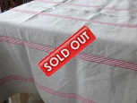 Tablecloth Saint-Malo rouge
