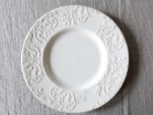 Value ceramic Ivory Damask ディナープレート Φ27.5cm